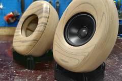 3D printed wood Forust loudspeaker